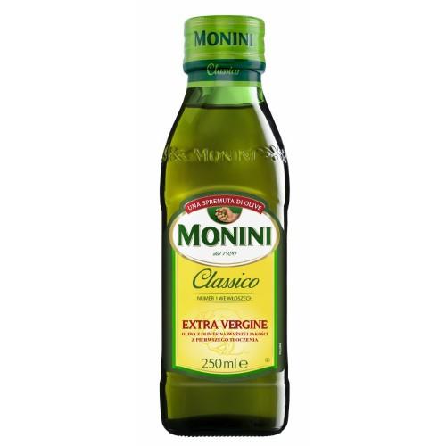 Масло оливковое Monini Extra Virgin Classico, 250 ml.
