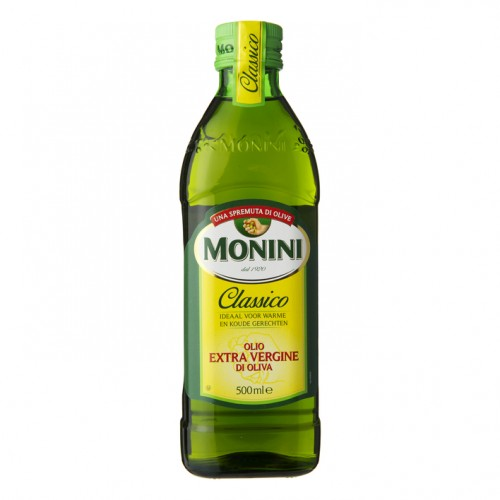 Масло оливковое Monini Extra Virgin Classico, 500 ml.