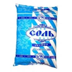 Соль поваренная пищевая Экстра Полесье, 1 кг
