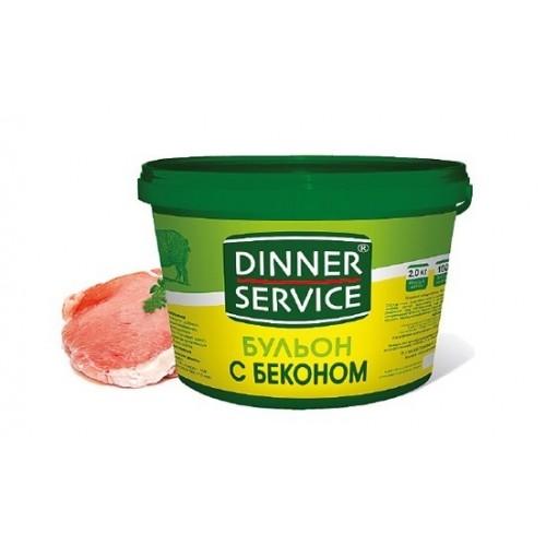 Бульон бекон Dinner Service, 2 кг