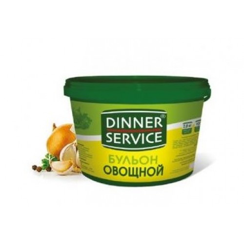 Бульон овощной Dinner Service, 2 кг