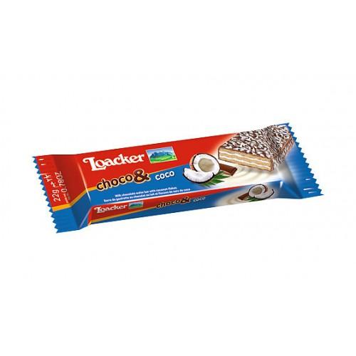 Вафли Loacker Choco & Coconut, 25 г