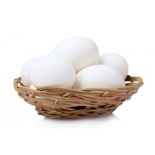 Яйца куриные белые C-1, 10 шт
