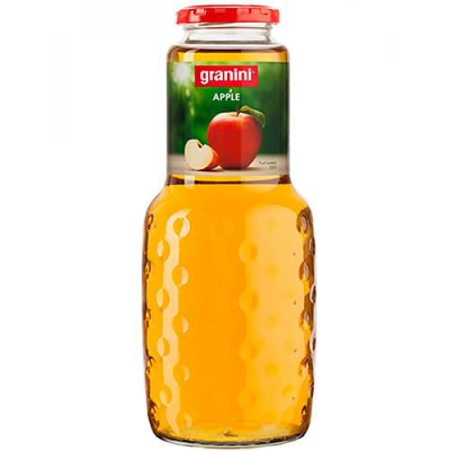 Сок Granini Яблочный, стекло, 1 л