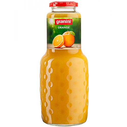 Сок Granini Апельсиновый, стекло, 1 л