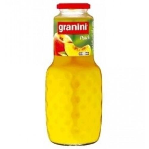 Нектар Granini Персик, стекло, 1 л
