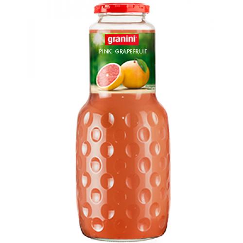 Нектар Granini Розовый Грейпфрут, стекло, 1 л
