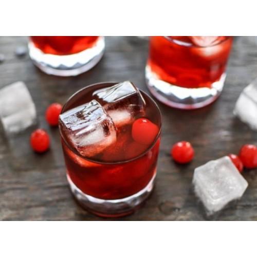 Luciano Коктейльная вишня красная с черенком, 225 g.