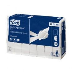 Полотенца Tork Xpress листовые сложения Multifold мягкие 2 слоя, 136 лист/упак