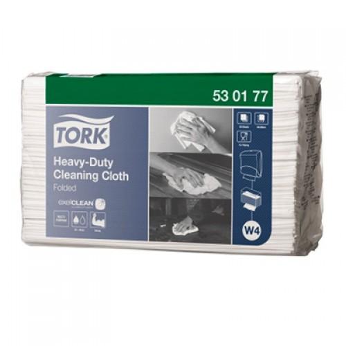 Нетканый материал Tork повышенной прочности листовой в пачках W4, 60 шт/упак