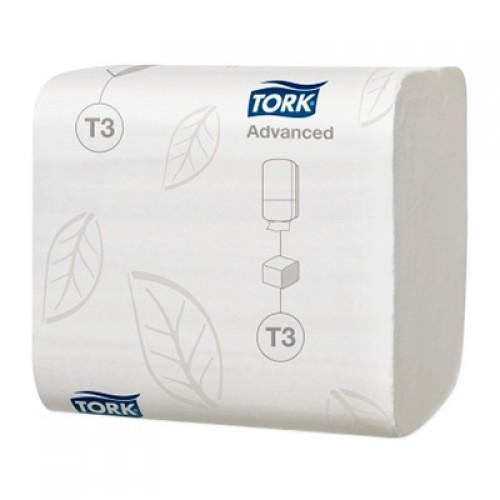 Бумага туалетная Tork листовая, 242 листа