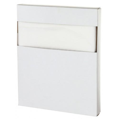 Покрытия на унитаз индивидуальные бумажные Дили Дом одноразовые, 100 шт/упак