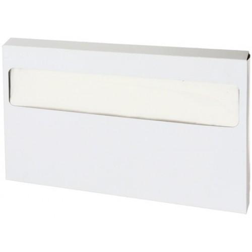 Покрытия на унитаз индивидуальные бумажные Дили Дом одноразовые, 235 шт/упак