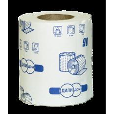 Бумага туалетная Дили Дом в рулонах 1 слой, 29-34 м