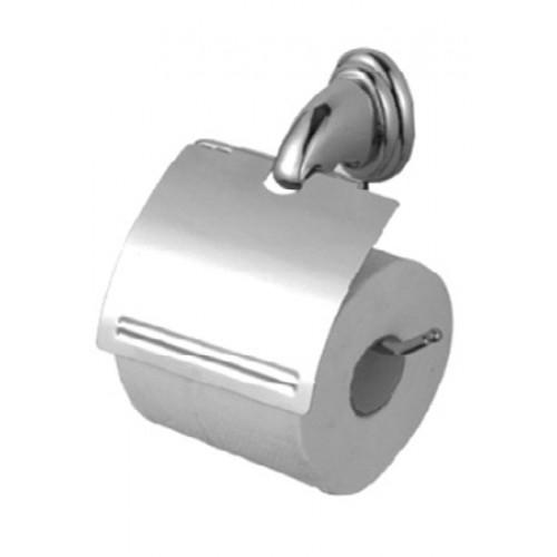 """Держатель для туалетной бумаги """"козырек"""" металлический хромированный G-TEQ"""