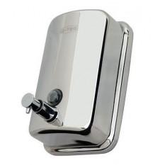 Дозатор для жидкого мыла металлический хромированный G-TEQ 8610 наливной, 1 л
