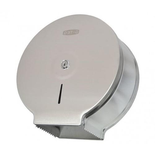 Держатель для туалетной бумаги металлический хромированный G-TEQ 8912