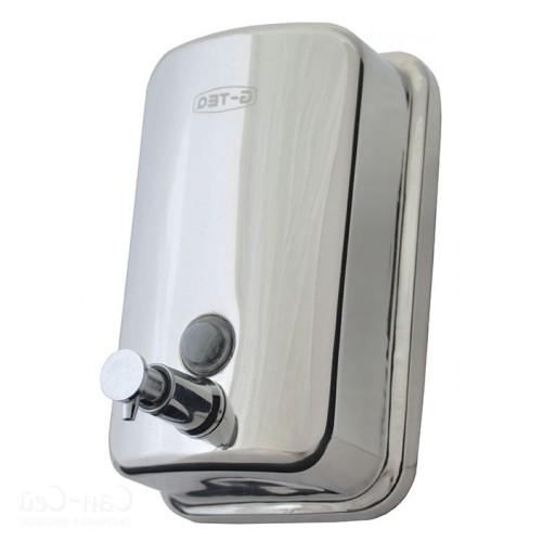 Дозатор для жидкого мыла металлический хромированный G-TEQ 8605 наливной, 0,5 л