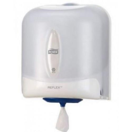 Диспенсер Tork Reflex для полотенец с центральной вытяжкой, белый