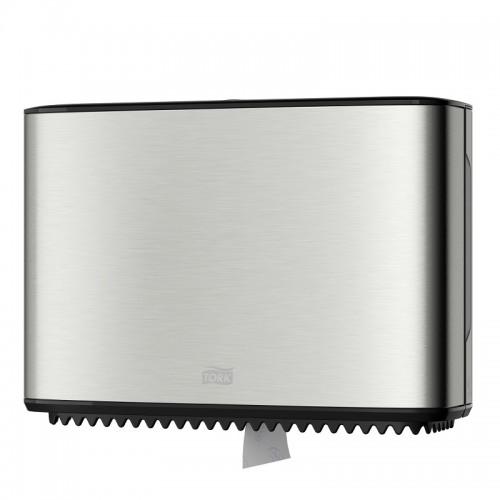 Диспенсер Tork для туалетной бумаги в мини-рулонах металлический