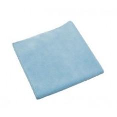 Салфетка из микрофибры Бережливая хозяйка голубая универсальная 29х29 см, 1 шт