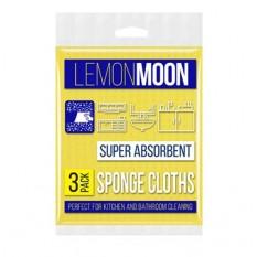 Салфетка вискозная LemonMoon 30х38 см, 3 шт