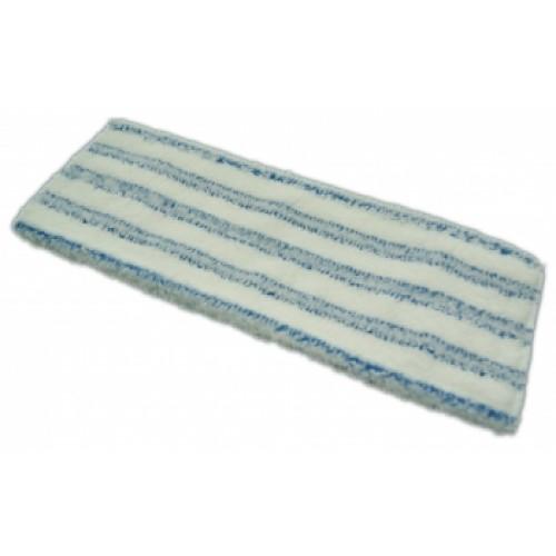 Моп микроволоконный с полосами скольжения с абразивом 40 см карман+язык Uctem