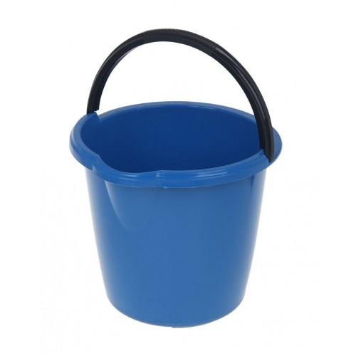 """Ведро 10 литров """"Чудо"""" Дили Дом голубое"""
