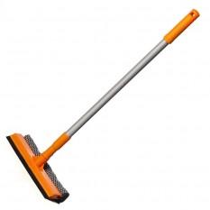 Окномойка Умничка 25 см с телескопической ручкой длина 95 см Дили Дом