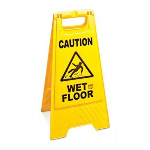 """Знак """"Осторожно, мокрый пол"""" на английском языке Дили Дом"""